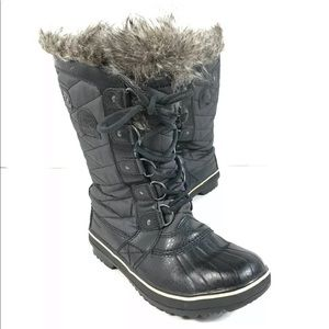 SOREL TOFINO II LACE UP WATERPROOF WINTER BOOTS 38